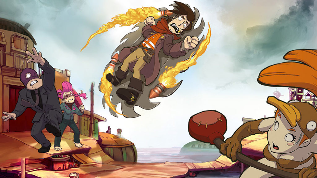 Chaos on Deponia recenzja review