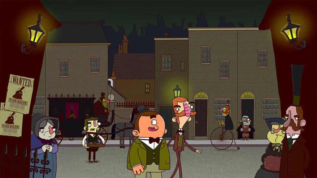 Adventures of Bertram Fiddle 1: A Dreadly Business recenzja review Xbox One