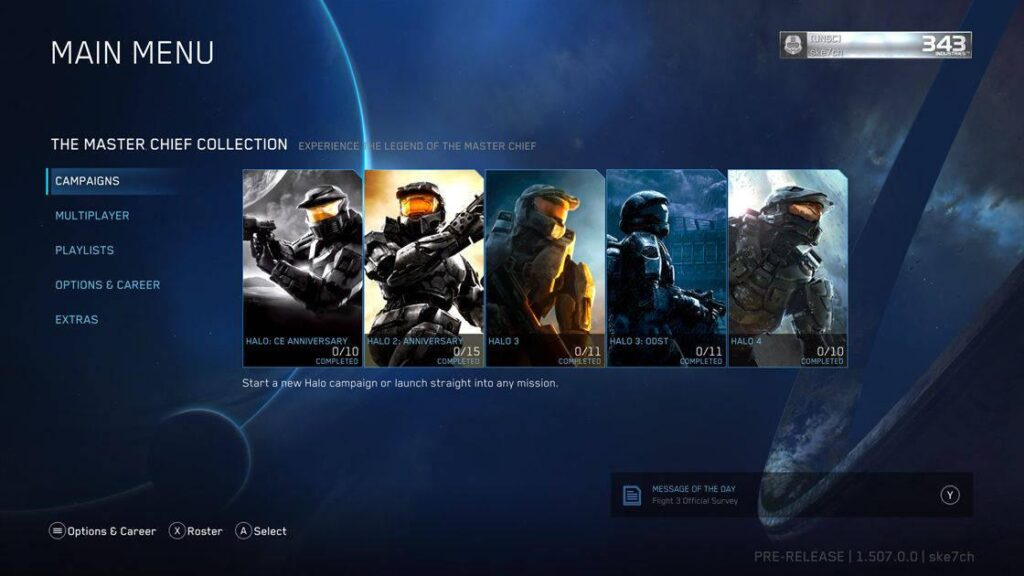 Halo, Master Chief Collection, Xbox One, Xbox Series X S